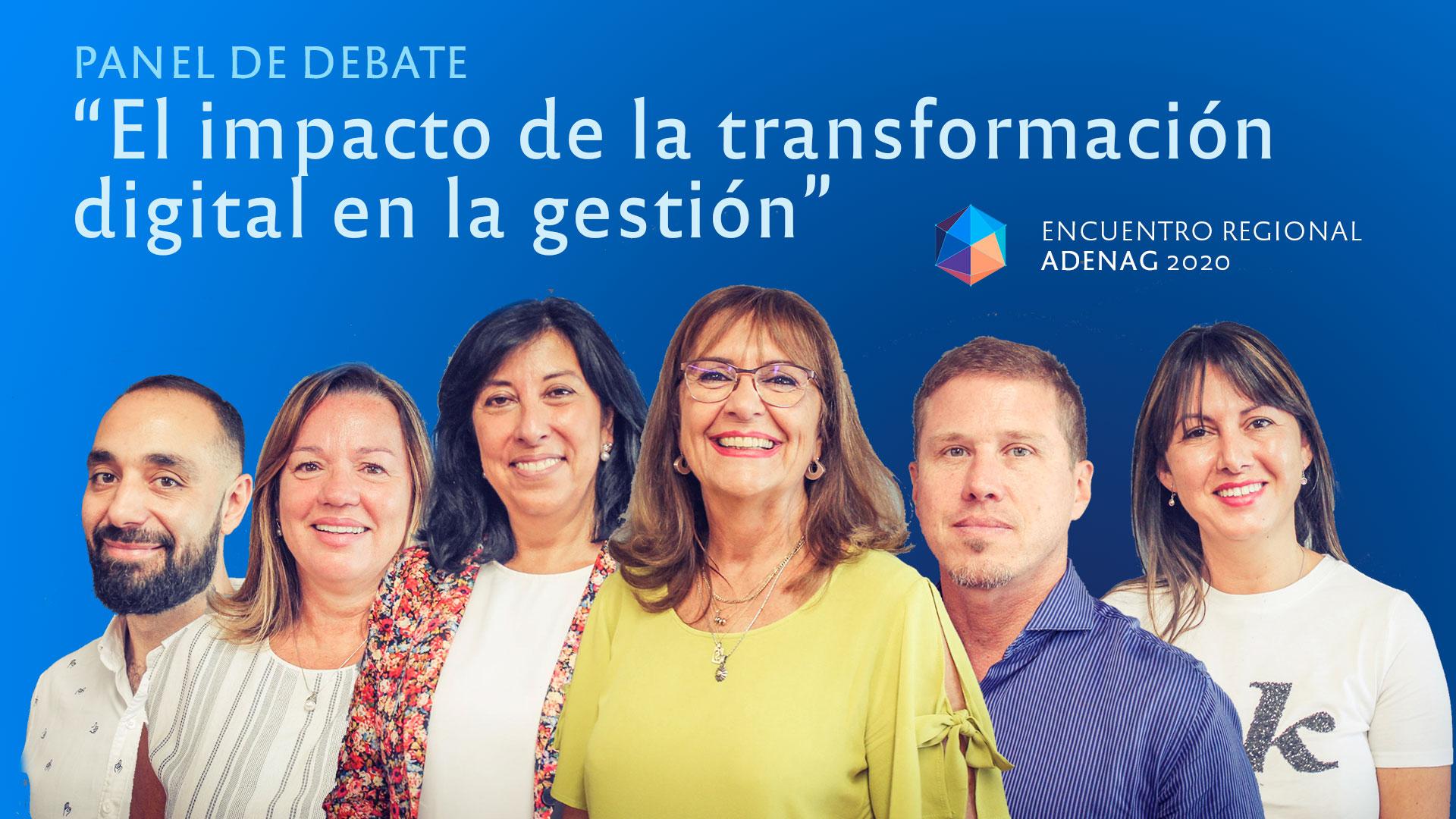 """Panel: """"El impacto de la transformación digital en la gestión"""""""